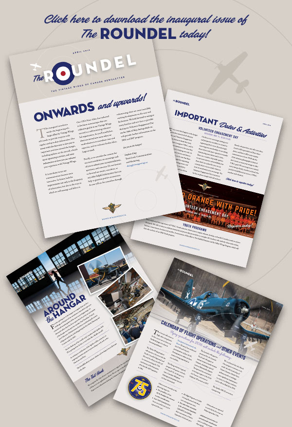 Roundel Vintage Wings Newsletter